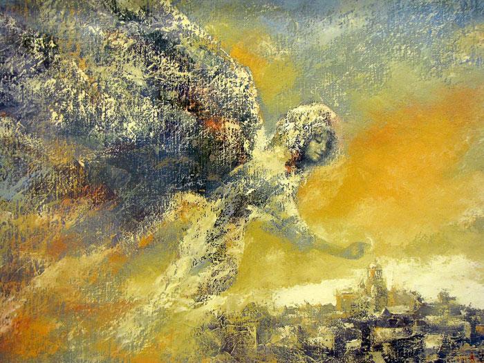 'Ангел над городом' Владимир Рябчиков