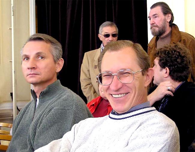 Заслуженный артист РФ Сергей Власов, фото Веры Волошиновой