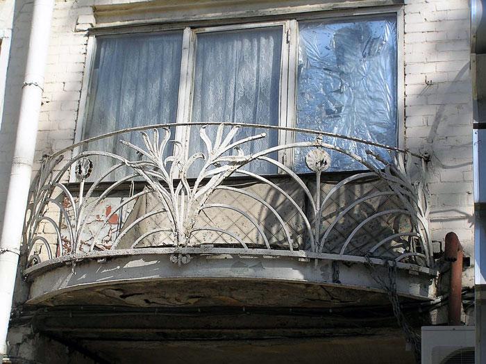 Ворошиловский 8, балконное ограждение, Ростов-на-Дону, фото Веры Волошиновой