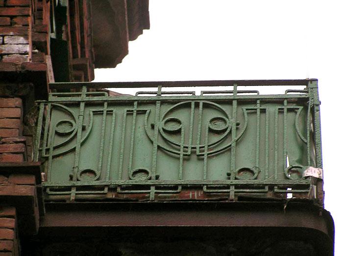 Балконное ограждение, Газетный 91, Ростов-на-Дону, фото Веры Волошиновой