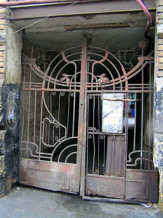Ворота, Газетный 91, Ростов-на-Дону, фото Веры Волошиновой