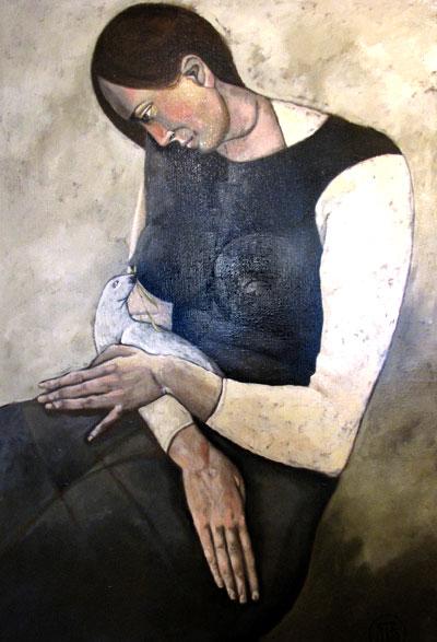 Доброй вести от мужа, картина Тараса Шевченко
