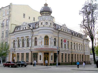 Дом Черновой на Большой Садовой, где в 1921 году располагалась театр-студия 'Театральная мастерская', фото Веры Волошиновой