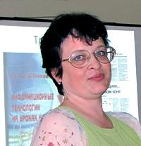 победителя Всероссийского конкурса Учитель года России-2008 Елена Нечитайлова, фото Веры Волошиновой