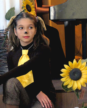 Анна (Жучка) в опере Виталия Ходоша Репка, постановка Евгения Седых, фото Веры Волошиновой