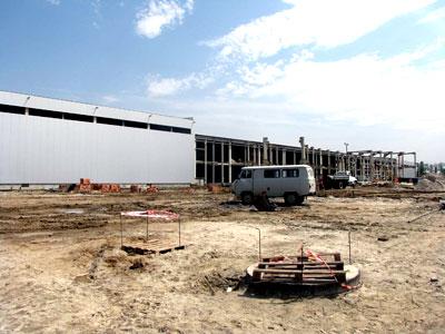 Завод по производству чипсов «Фрито Лей Мануфактуринг» фирма Pepsico в Азвовском районе, фото Веры Волошиновой