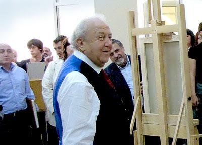 Мастер-класс Зураба Церетели в Ростове-на-Дону, фото Веры Волошиновой