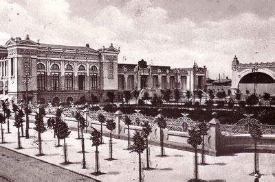 Коммерческий клуб и сад, Ростов-на-Дону, фото начала ХХ века