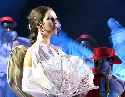 Анна Аверина  (Кончита), в опере Юнона и Авось Ростовского Музыкального театра, фото Веры Волошиновой