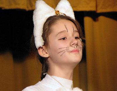 Анастасия Кабанова (Кошка) в опере Виталия Ходоша Репка, постановка Евгения Седых, фото Веры Волошиновой