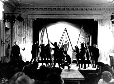 Спектакль Мастера в театральной студии на Темерницкой, 70-е годы