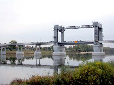 Новый мост в Казанской, Ростовская область, фото Веры Волошиновой