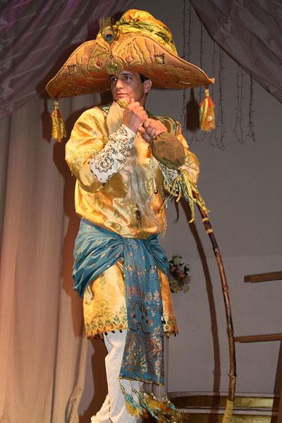 Мудрец из индийской сказки, училище имени М.Б.Грекова? дипломная защита, фото Веры Волошиновой