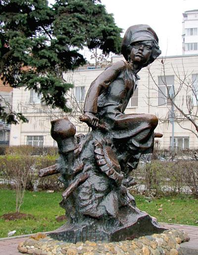 Нахаленок, Ростов-на-Дону, скульптор Николай Можаев, фото Веры Волошиновой