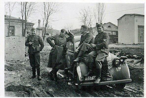 Немцы на Дону