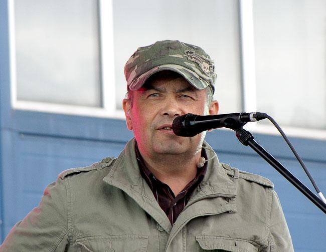 Николай Расторгуев на юбилом концерте