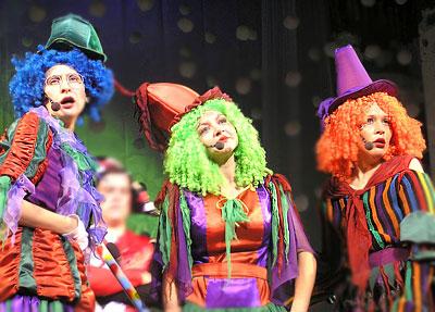 Новогодний переполох! - новогоднее представление в Ростовском Молодежном театре в 2009 году, фото Веры Волошиновой