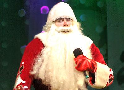 Дед Мороз, Новогоднее представление в Ростовском Молодежном театре, фото Веры Волошиновой