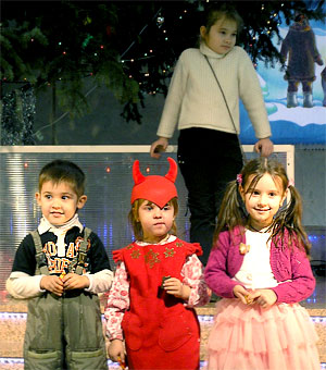 Новогодняя елка в Ростовском музыкальном театре, фото Веры Волошиновой
