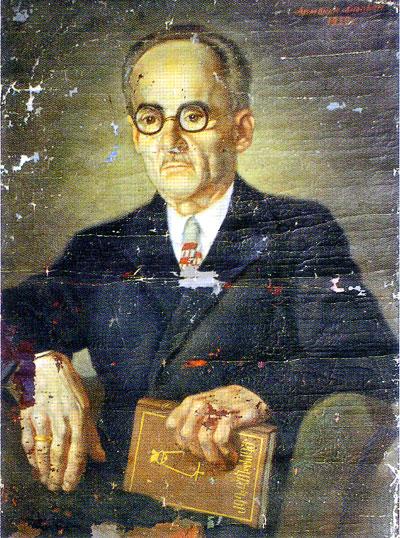 Арменак Анопьян, портрет отца художника — Оноприоса Анопьяна
