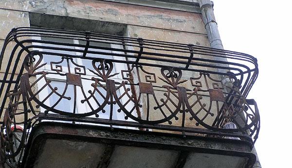 Балкон, Пушкинская 34, Ростов-на-Дону, фото Веры Волошиновой
