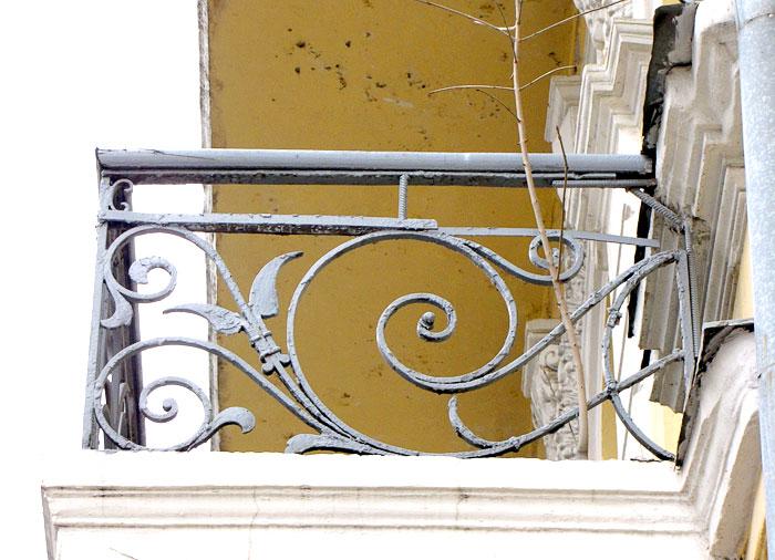Гостиница Московская, балконое ограждение, архитектор Н.Н. Дурбах, Ростов-на-Дону, фото Веры Волошиновой