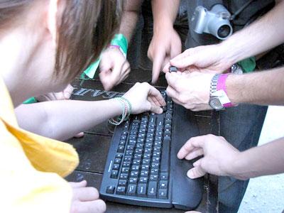 IT-фестиваль – AdminFest в Ростове на Дону, 2009 год, фото Веры Волошиновой