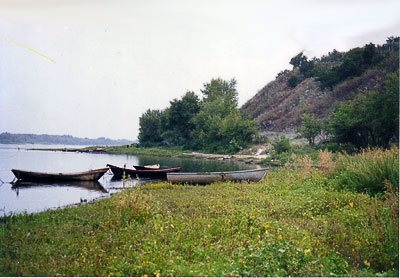 Окрестности Раздорской, памятник природы 'Золотые горки'