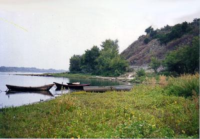 Станица Раздорская, берег Дона, фото Веры Волошиновой