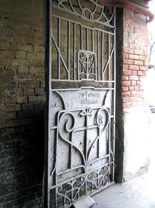 Семашко 74, фрагмент ворот, Ростов-на-Дону, фото Веры Волошиновой