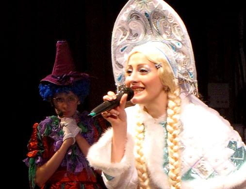 Снегурочка, Новогодний переполох - 2, Ростовский Молодежный театр, фото Веры Волошиновой
