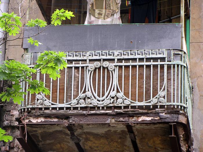 Балконное ограждение, ул Соколова 37, Ростов-на-Дону, фото Веры Волошиновой