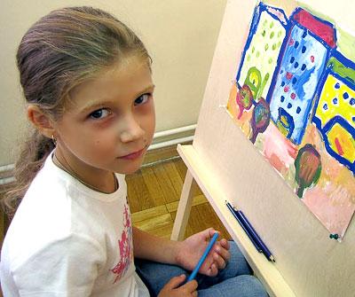 Софа Арбузова, 7 лет