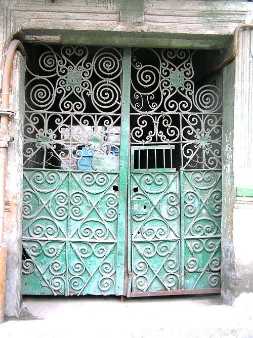 Социалистическая 7, ворота, Ростов-на-Дону, фото Веры Волошиновой