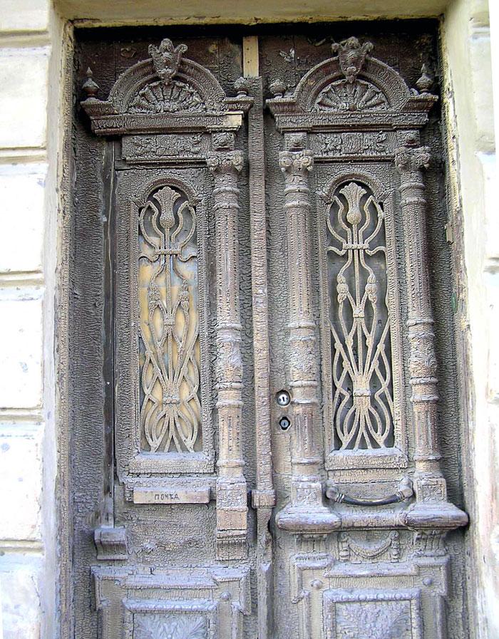 Станиславского 103, дверь, Ростов-на-Дону, фото Веры Волошиновой