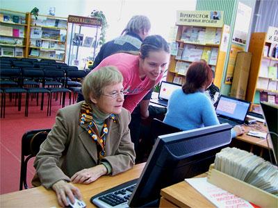 Программа обучению информационным технологиям пожилых людей  'Место встречи – диалог' добровольцами молодежной общественной организации Новочеркасска 'Алый парус'