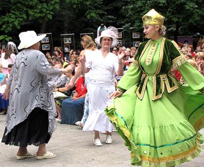 Татарский праздник сабантуй в Ростове-на-Дону, фото Веры Волошиновой