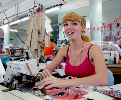 Татьяна Куренкова, участница областной программы по снижению напряженности на рынке труда, направление 'Стажировка', фото Веры Волошиновой