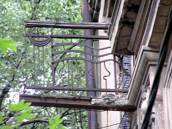 Балконное ограждение, Темерницкая 64, Ростов-на-Дону, фото Веры Волошиновой