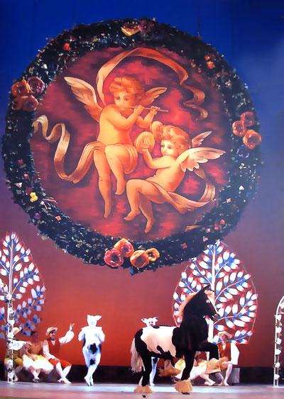 Балет 'Тщетная предосторожность' для Ростовского Музыкального театра, сценография - Степан Зограбян