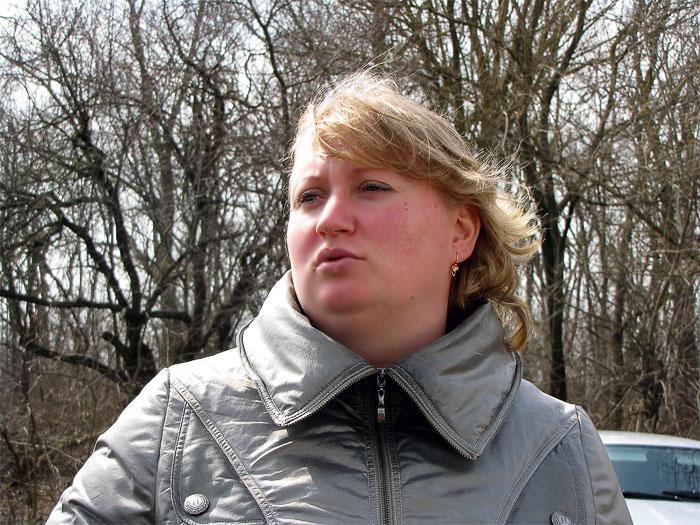 Учитель филиала Орловской средней  школы Азовского района, фото Веры Волошиновой