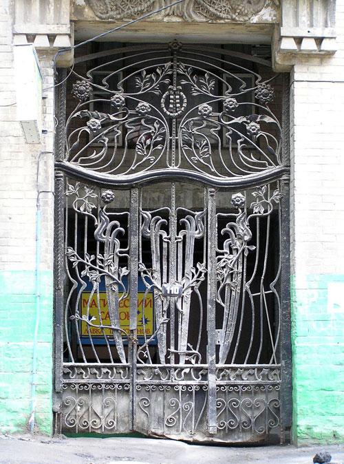 Ворота, Шаумяна 110, Ростов-на-Дону, фото Веры Волошиновой