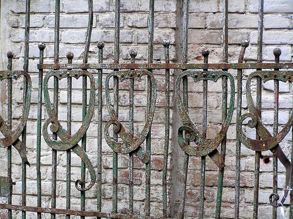 Фрагмент ворот, Шаумяна 35, Ростов-на-Дону, фото Веры Волошиновой