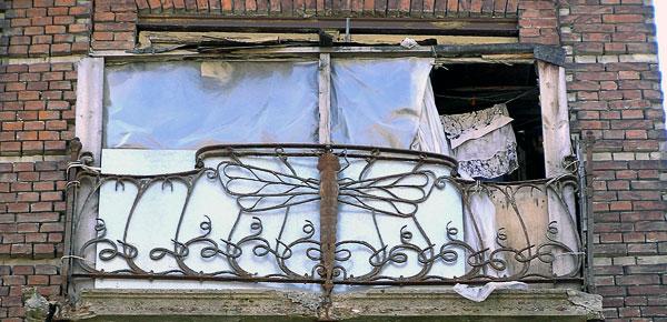 Балкон-стрекоза, Шаумяна 84, Ростов-на-Дону, фото Веры Волошиновой