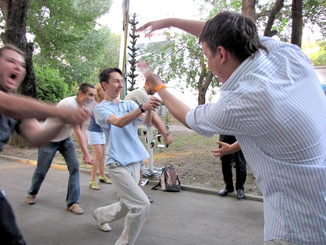 Конкурс 'Китайские шахматы', международный день сисадмина в Ростове-на-Дону, фото Веры Волошиновой'