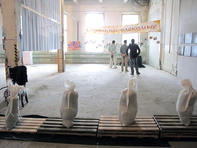 Первая Южно-Российская биеннале в центре современного искусства «Табачная фабрика», фото Веры Волошиновой