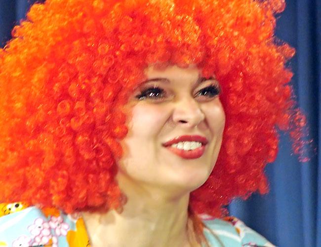 Александра Сопова (Жавотта) в спектакле Новошахтинского театра