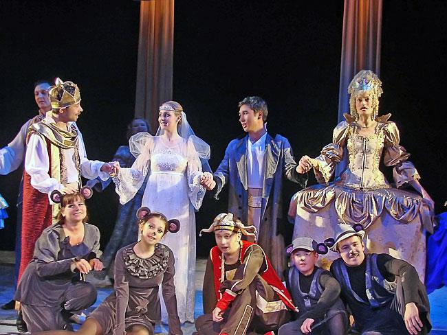 Спектакль Новошахтинского театра