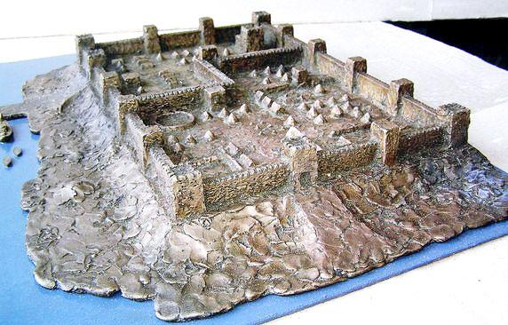 Макет крепости Саркел, Ростовская область