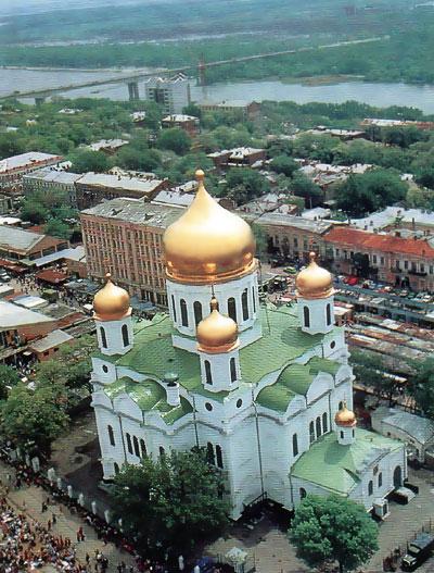 Собор во имя Рождества Пресвятой Богородицы, Ростов-на-Дону, снимок Михаила Дзябенко
